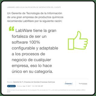 [ES] LabWare Testimonial 4
