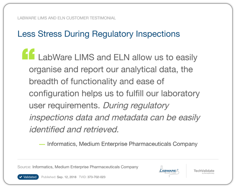 LabWare Contract Services